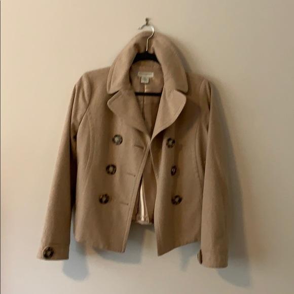 Banana Republic Jackets & Blazers - Banana Republic wool short pea coat